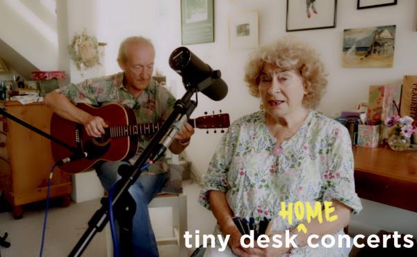 Shirley Collins plays a Tiny Desk (home) concert.