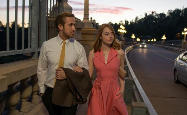 Ryan Gosling and Emma Stone star in Damien Chazelle's new film La La Land, a musical meditation on growing up and reconciling your showbiz dreams with reality.