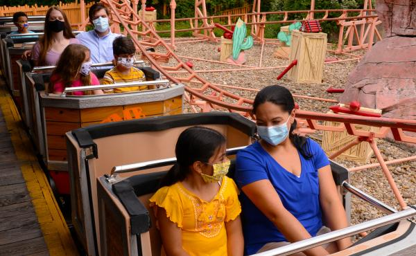 Six Flags is preparing to reopen its Frontier City theme park in Oklahoma City on June 5, requiring visitors and staff to wear face masks.