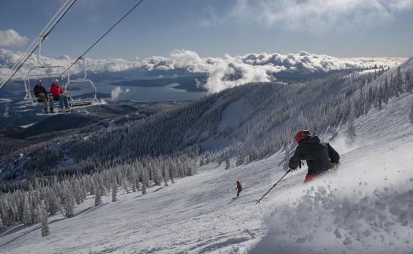 There's plenty of social distance out on the slopes, but resorts are requiring masks in lift lines and lodges and limiting lodge use. Most skiers and boarders are happy to comply but Schweitzer Mountain in Idaho had to suspend season passes for some who r