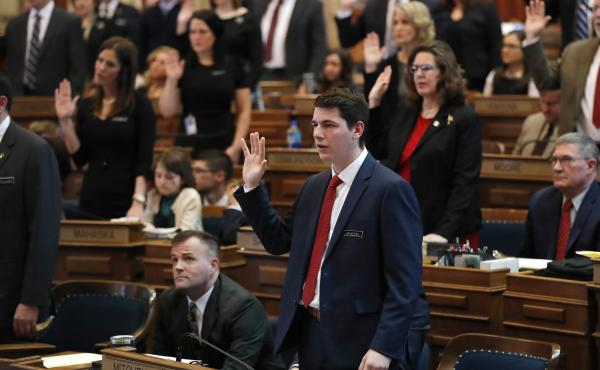Iowa state Rep. Joe Mitchell was first elected at age 21 and is now the co-founder of an organization looking to recruit fellow young conservatives to seek public office.