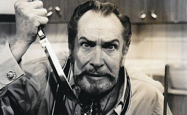 Horror film actor Vincent Price co-wrote a best-selling cookbook in the 1960s with his then-wife, Mary.