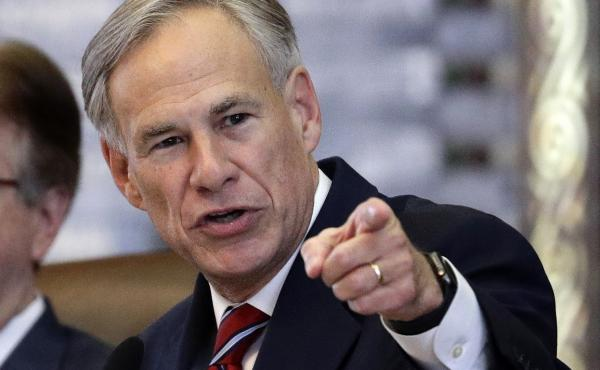 Texas Gov. Greg Abbott is one of a few GOP governors who say migrants are the source of rising COVID-19 rates.
