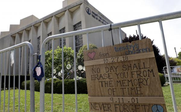 A year ago a shooter killed eight men and three women, and wounded seven others, at the Tree of Life synagogue in Pittsburgh.