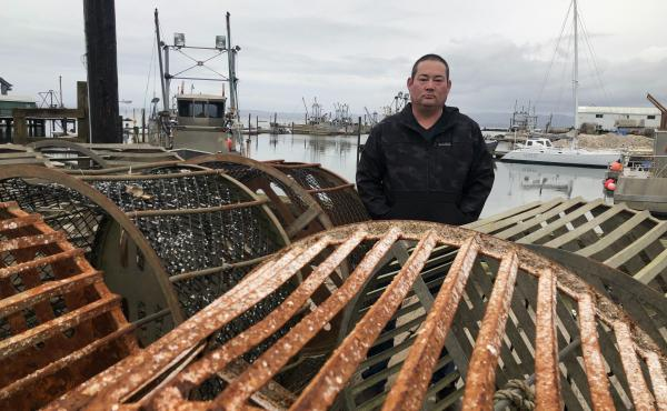 Kenichi Wiegardt is a fifth-generation oyster grower. He's worried he'll be the last in his family if the coronavirus doesn't get better and trade doesn't pick up again to China and other Pacific Rim countries. Exports there make up the majority of his fr