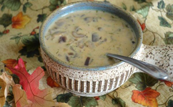 The Maslowskis love to cook, and with each mushroom harvest, they invent new recipes. One of their favorite dishes is Hungarian mushroom soup.