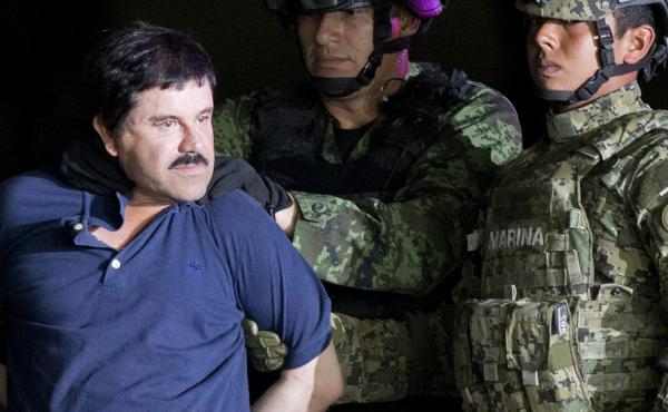"""Joaquín """"El Chapo"""" Guzmán was extradited to the U.S. in 2017 after two successful escapes from Mexican prisons. On Thursday, the Justice Department announced two of his sons have been indicted on a drug conspiracy charge. Both brothers are believed to b"""