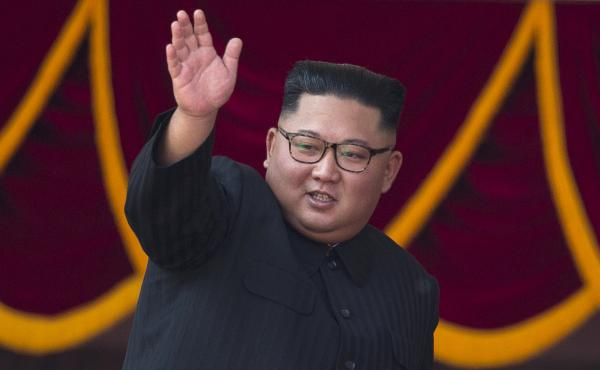 North Korean leader Kim Jong Un at a ceremony in September marking 70 years since the nation's founding. A beauty company in South Korea is selling Kim facial masks, prompting criticism.