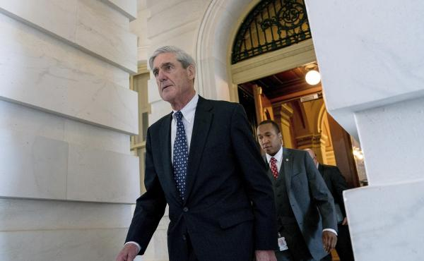 """The New York Times reports that special counsel Robert Mueller """"did not say that he was giving up on an interview."""