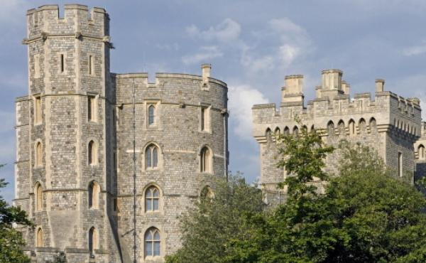 Windsor Castle, home to the British monarchy for hundreds of years, was built by William the Conqueror in the 1070s, according to the monarchy's official website.