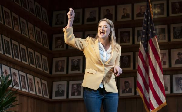 Heidi Schreck's What the Constitution Means to Me opens on Broadway on Sunday.