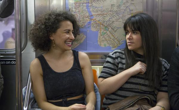 Ilana (Ilana Glazer) and Abbi (Abbi Jacobson) routinely take the subway in Broad City. But public transit hasn't always been featured so prominently on television.