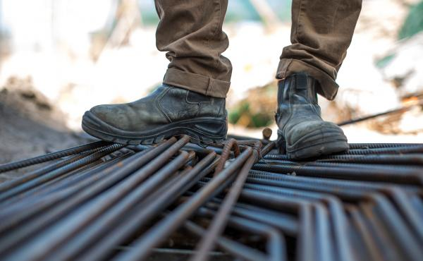 Construction workers reported the most standing and physical work in the most recent federal survey of occupational health.