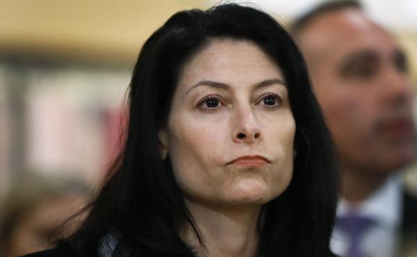 Michigan Attorney General Dana Nessel, pictured earlier this month, has settled a lawsuit by same-sex couples who argued their rights were violated by faith-based adoption agencies that don't want to work with gays and lesbians.
