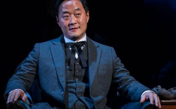 Stephen Park in Steppenwolf Theatre's production of East of Eden.