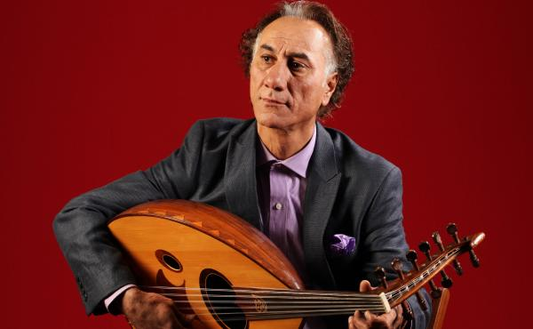 Iraqi-born, New Mexico-based composer and oud player Rahim Alhaj.