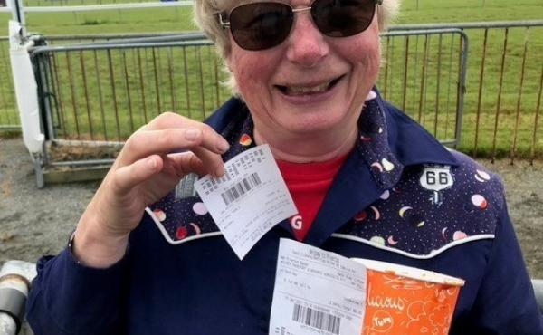 Clapp frequents a local racetrack. She has been out and about in the past year and says hardly anyone in New Zealand wears masks.