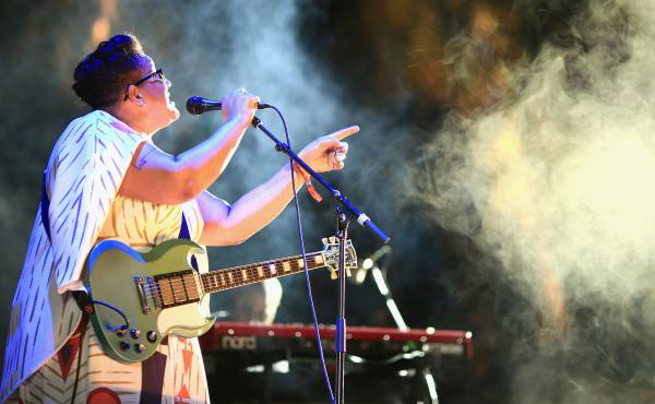 "Brittany Howard of Alabama Shakes performs at Coachella in 2015. Alabama Shakes' song ""Hold On"" is on our Turning the Tables: 21st Century Edition list."