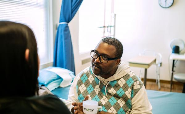 """Troy Hodge was only 41 years old when a vessel in his brain burst. """"You don't think of things you can't do until you can't do them,"""" he says."""
