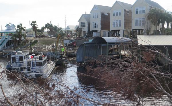 In early October, Hurricane Michael devastated Florida's panhandle leaving beachside communities in ruins. The cost of removing debris from Mexico Beach, including its canals, is expected to top $25 million.