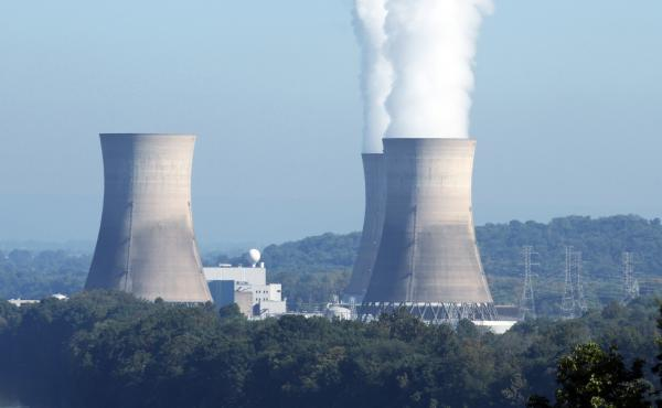 The Three Mile Island nuclear power plant, in Londenderry Township, Pa., was the site of a partial meltdown in 1979. The plant, with its one still-functioning reactor, is having trouble selling its power because it's more expensive than other resources, i