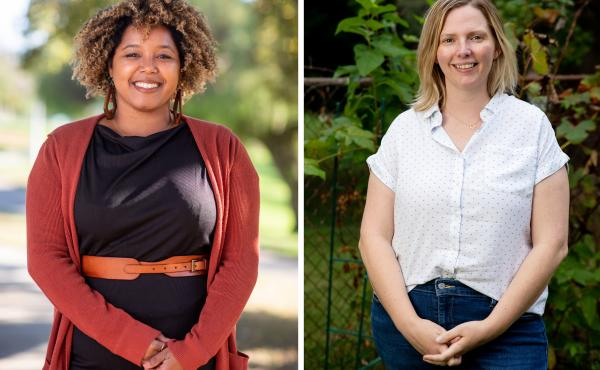 Zahra Nealy (left) and Victoria Chamberlin both stand to benefit from recent changes to the Public Service Loan Forgiveness program.