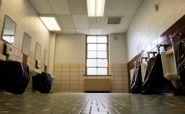 School administrators and police are warning parents about a trend where students destroy objects in school bathrooms for attention on social media.