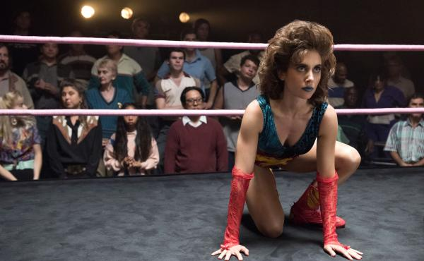 Alison Brie stars in Netflix's GLOW, a fictionalized take on the story behind the Gorgeous Ladies of Wrestling league.