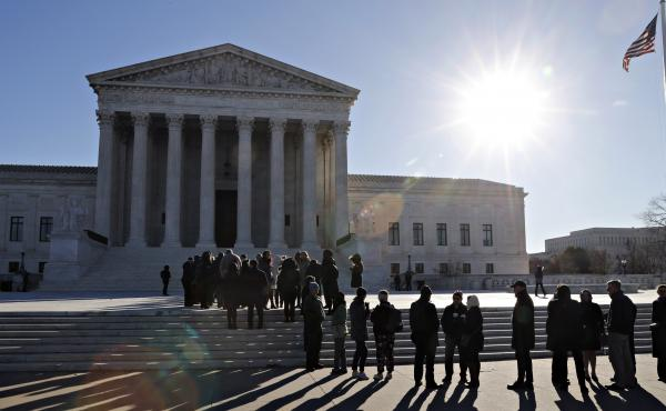 The Supreme Court as seen on a morning last month.