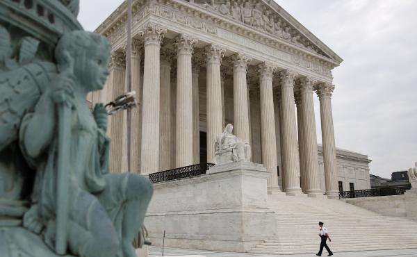 The Supreme Court on Monday struck down a law letting federal debt collectors make robocalls.