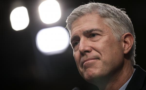 President Trump has hailed his appointment of Neil Gorsuch to the Supreme Court, but Gorsuch sided against the administration Tuesday in an immigration case.