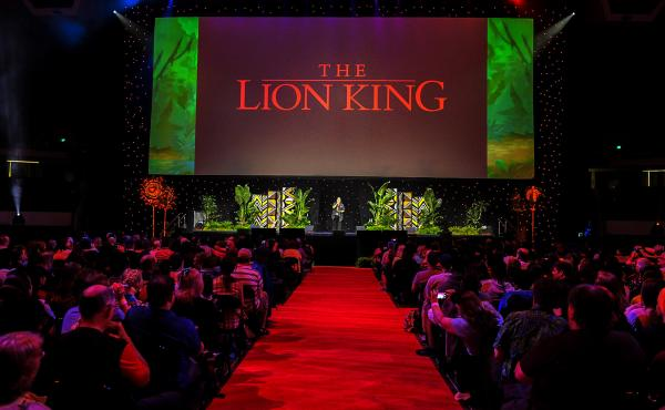"""The Lion King,"" released in 1994 and one of the top grossing U.S. films of all time, is celebrated at a Disney fan event in Anaheim, Calif."