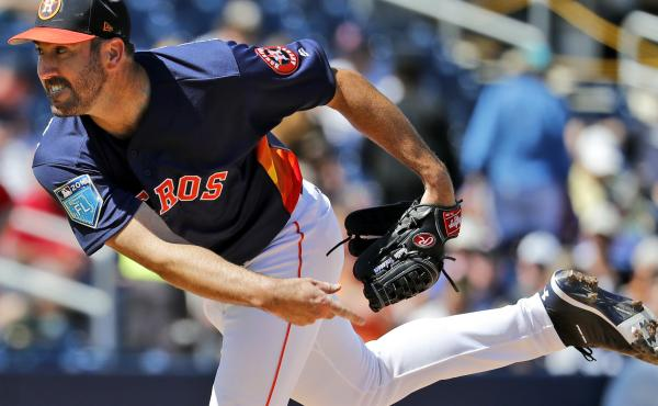 Houston Astros starting pitcher Justin Verlander was traded from the Detroit Tigers in a move that that experts estimate netted the Astros about $10 million, though no money changed hands between the two teams.