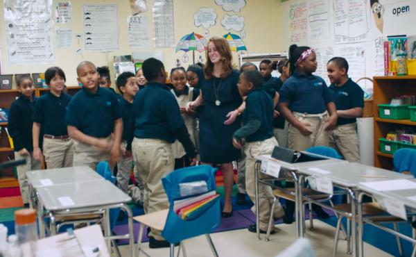 Third-grade teacher Nikki Bollerman, 26, won a contest that gave her students books for the holidays. When she also won $150,000, she decided it should go to her school.