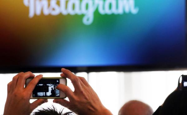 Instagram topped Twitter in active users in its latest count.