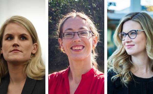 Frances Haugen; Janneke Parish; Chelsey Glasson