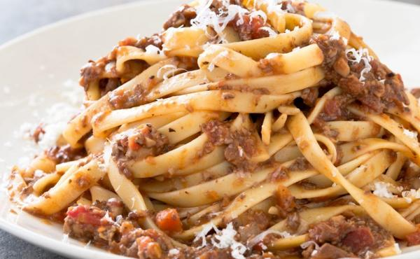 Jack Bishop says it's the soy sauce in the Mushroom Bolognese that really makes it pop.