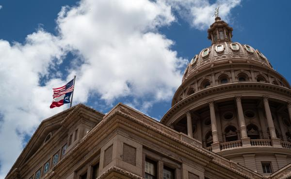 The first day of the Texas Legislature's special session gets underway Thursday at the Capitol in Austin. Republicans, who control the state, will attempt to pass new voting laws that will add penalties and make it more difficult to cast a ballot.