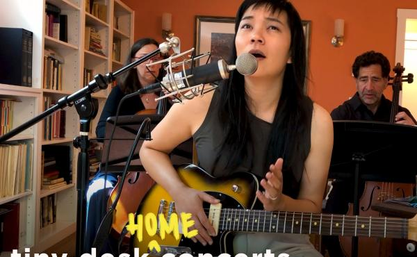 Thao Nguyen plays a Tiny Desk (home) concert.
