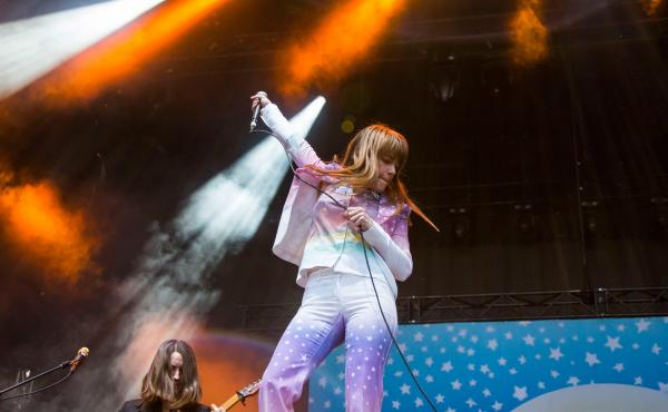 Jenny Lewis performs at Piedmont Park during Music Midtown in Atlanta, Ga. in Sept. 2015.