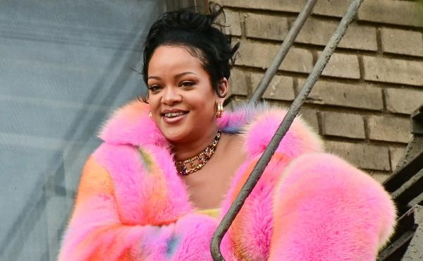 Rihanna, seen on the set of a music video in the Bronx on July 11, is estimated to have a fortune of $1.7 billion.