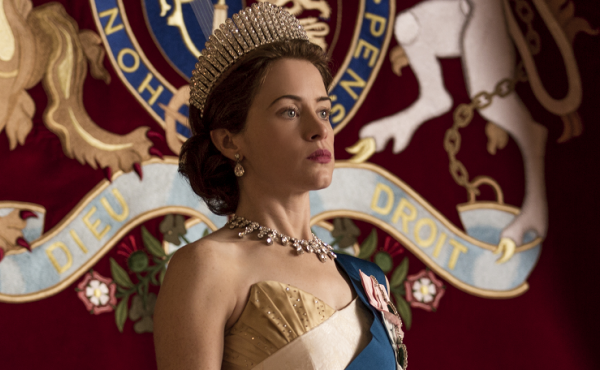 "Claire Foy plays Queen Elizabeth II in the Netflix series The Crown. Series creator Peter Morgan says he believes the queen is ""naturally a shy, retiring person."""
