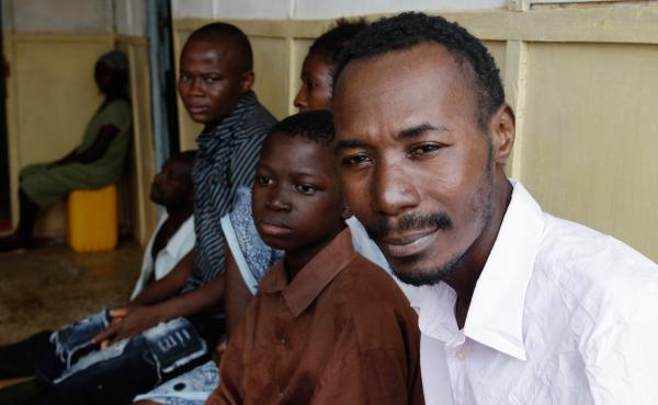 Kitibe, 26, has recovered from Ebola and was ready to go home. Then the hospital told him he might have TB.