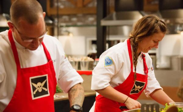 Jamie Lynch and Emily Hahn both figured in a surprising ending to Thursday night's Top Chef.