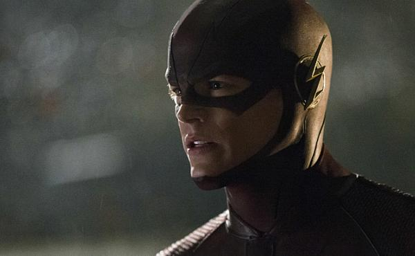 Grant Gustin as Barry Allen/The Flash on The CW's The Flash.