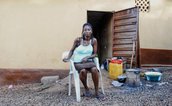 """They have forgotten us ... and many are still really suffering,"" says Ebola survivor Haja Bah."