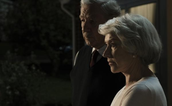 In Bill Condon's The Good Liar, Roy (Ian McKellan) targets widow (Helen Mirren) and her extensive fortune.