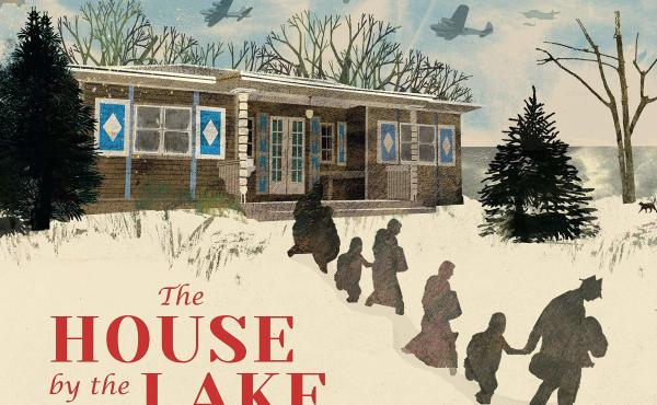 The House by the Lake: The True Story of a House, Its History, and the Four Families Who Made It Home, by Thomas Harding. Illustrated by Britta Teckentrup