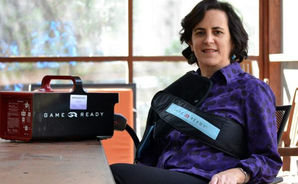 Lauren Kafka rented a machine that delivered cold water and compression to manage pain after rotator cuff surgery. Her insurance company said it wasn't medically necessary and refused to pay for it.