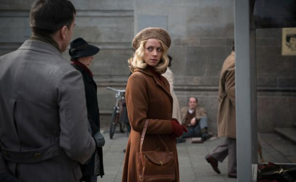 Alice Dwyer plays the young Hanni Lévy in The Invisibles, which focuses on the lives of four German Jews who stayed in Germany during World War II and survived.